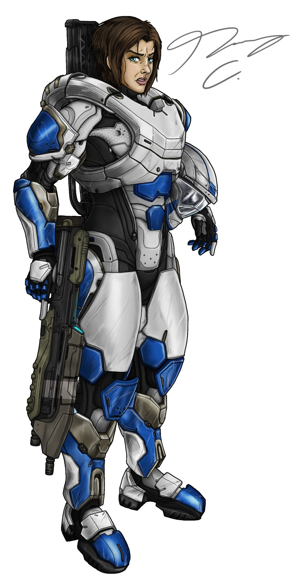 Commission - Spartan Jesse18