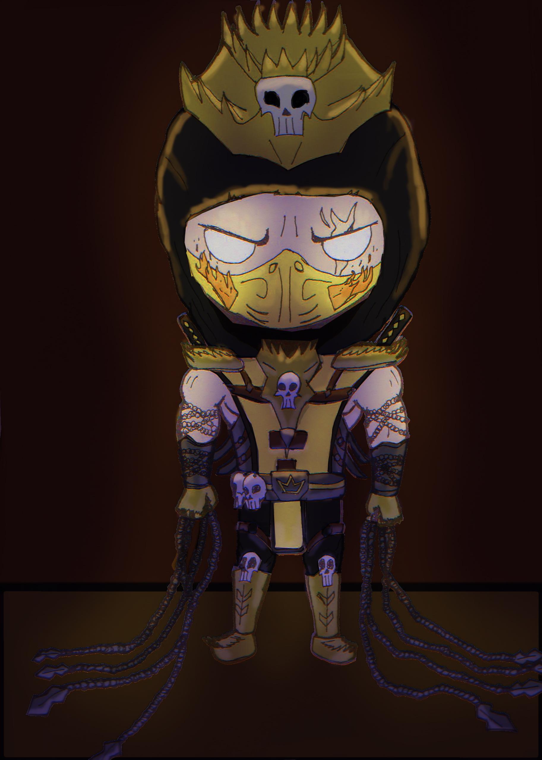 Scorpion LVL99 The King of Mortal Kombat