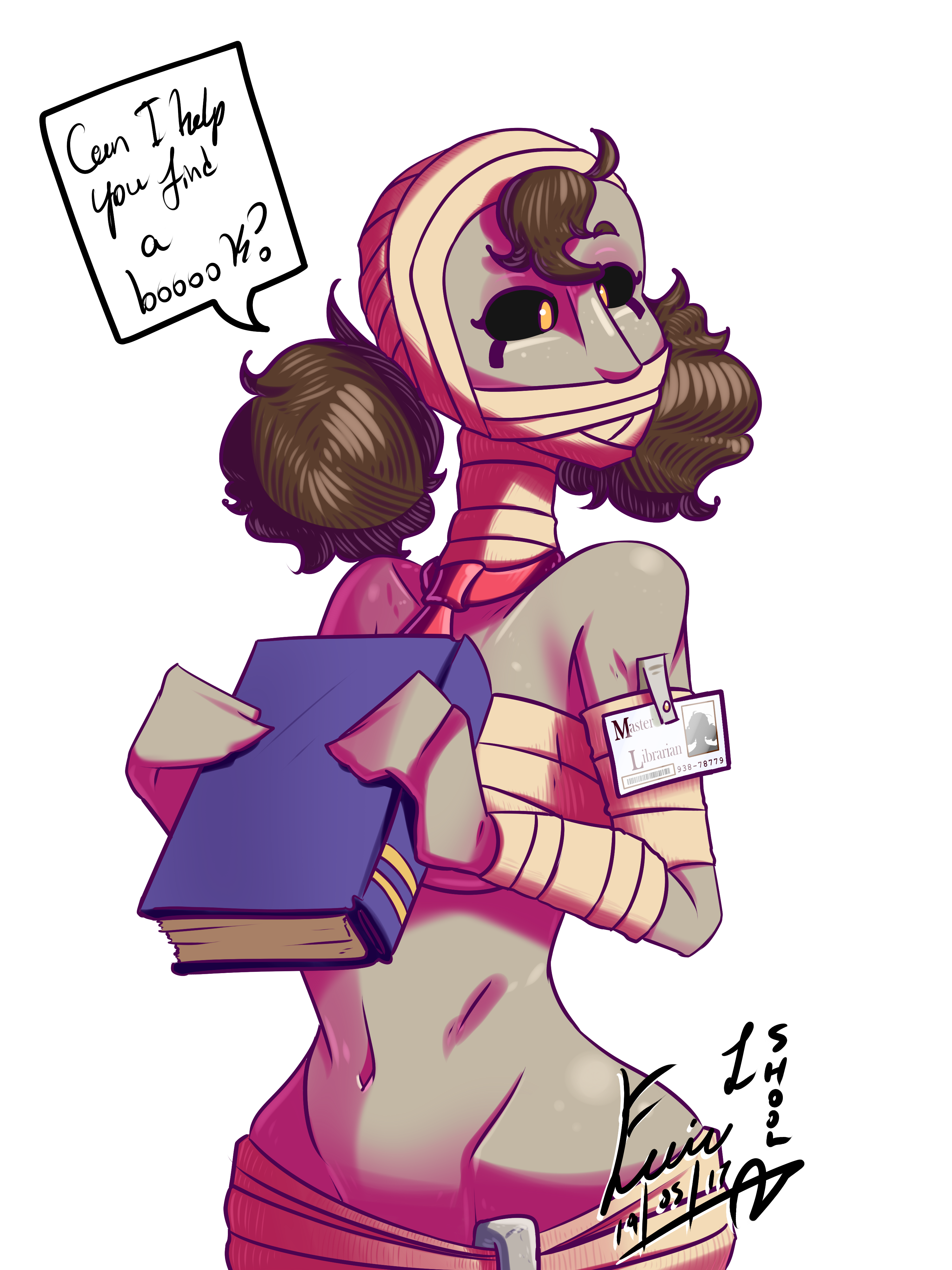 More Monster Girls: Mummy