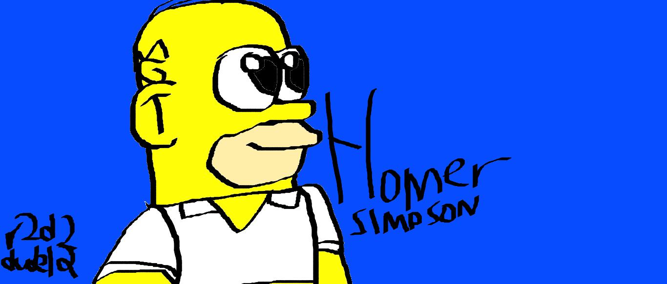 Homer Simpson!