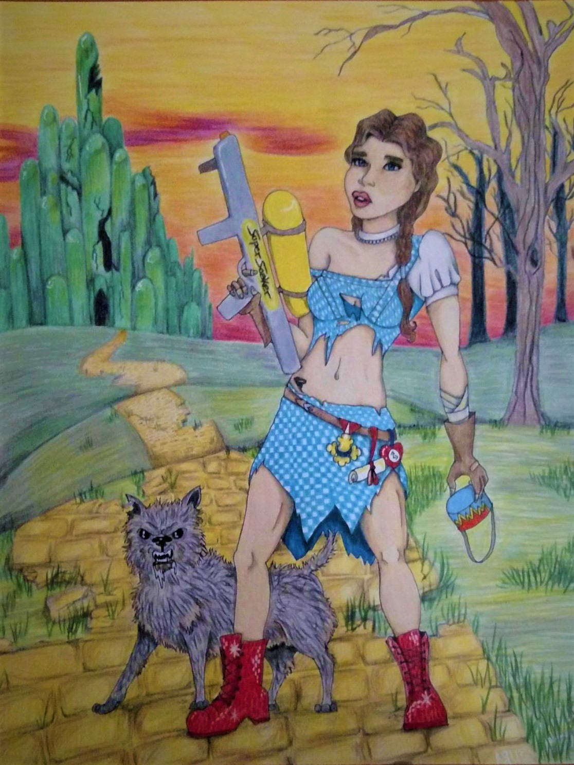 Dorothy Gale: Witch Hunter (And Her Little Dog Too)
