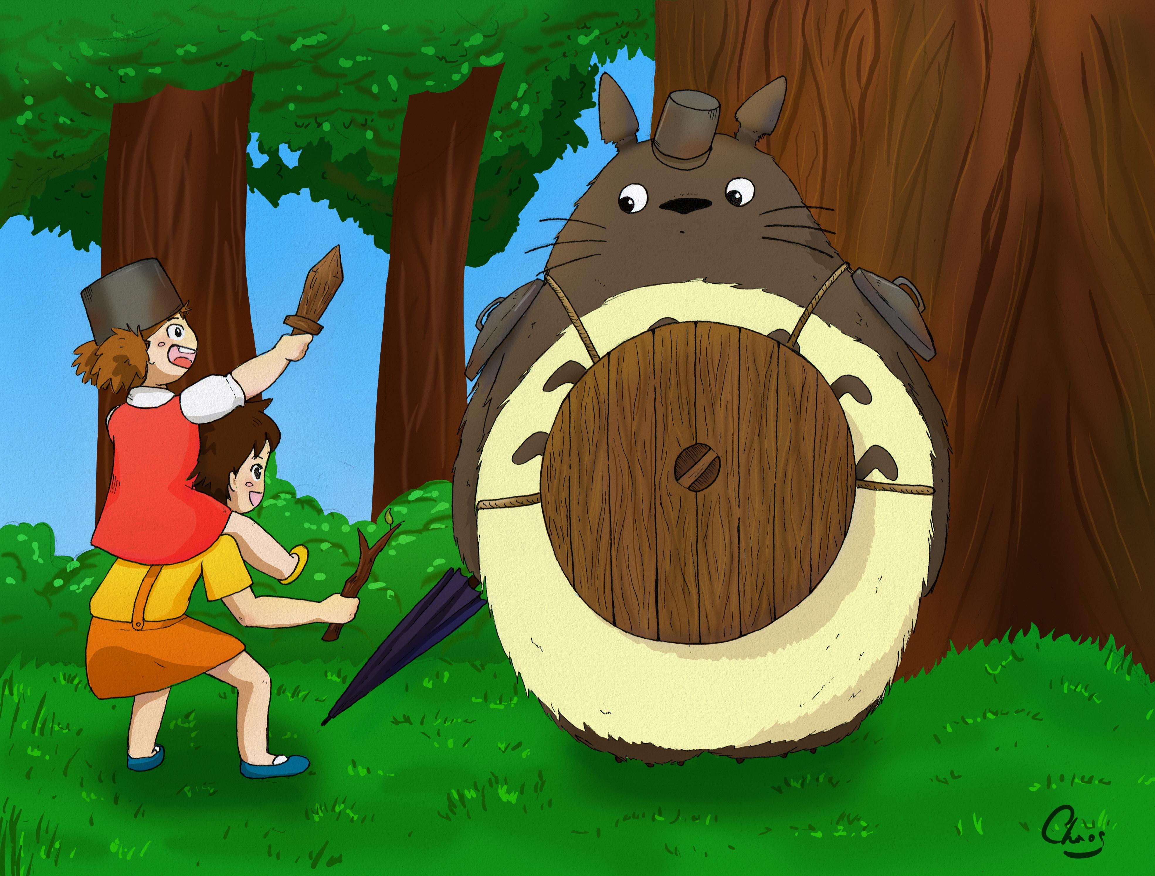 Totoro Level up!