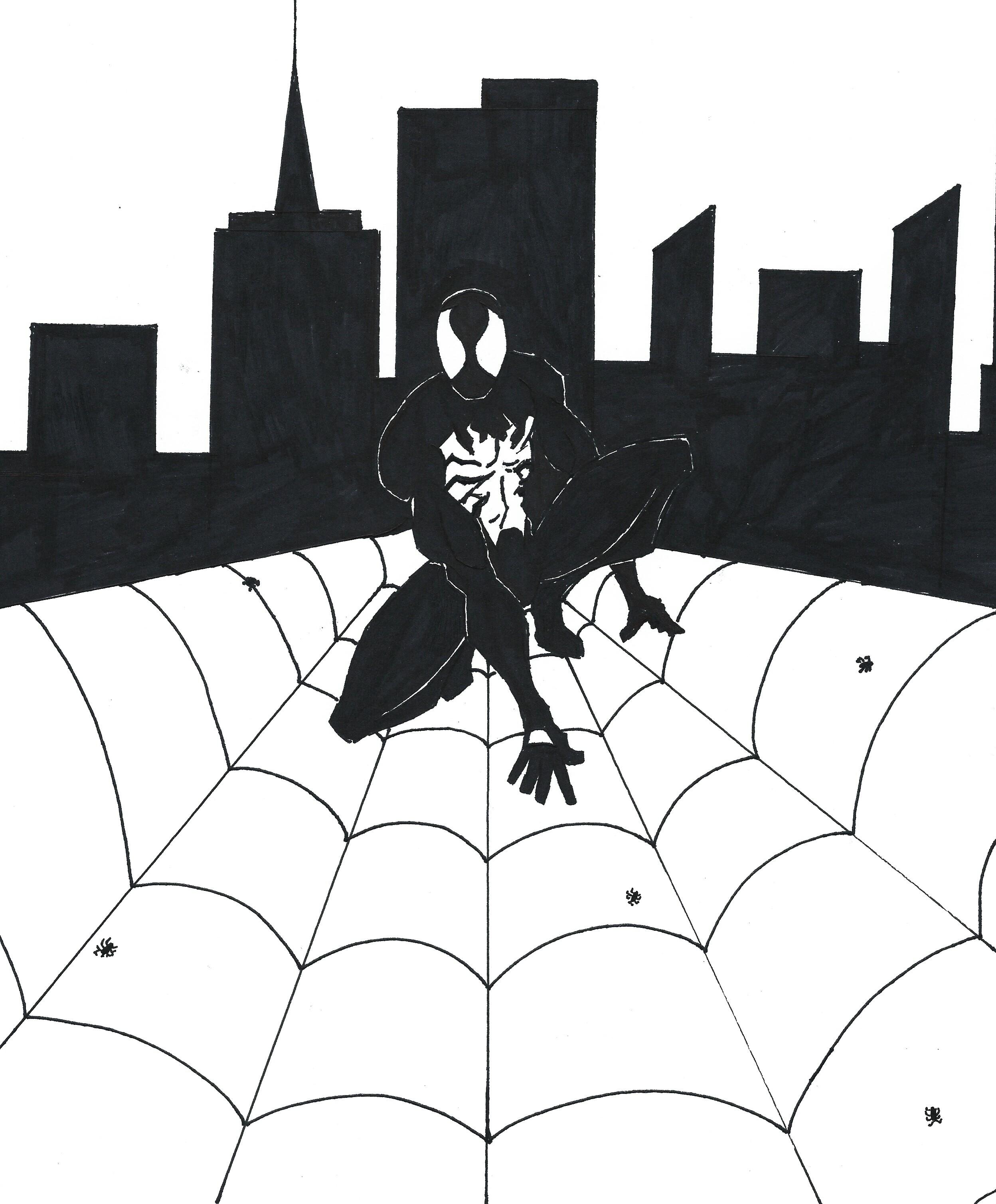 Symbiot Spider-man