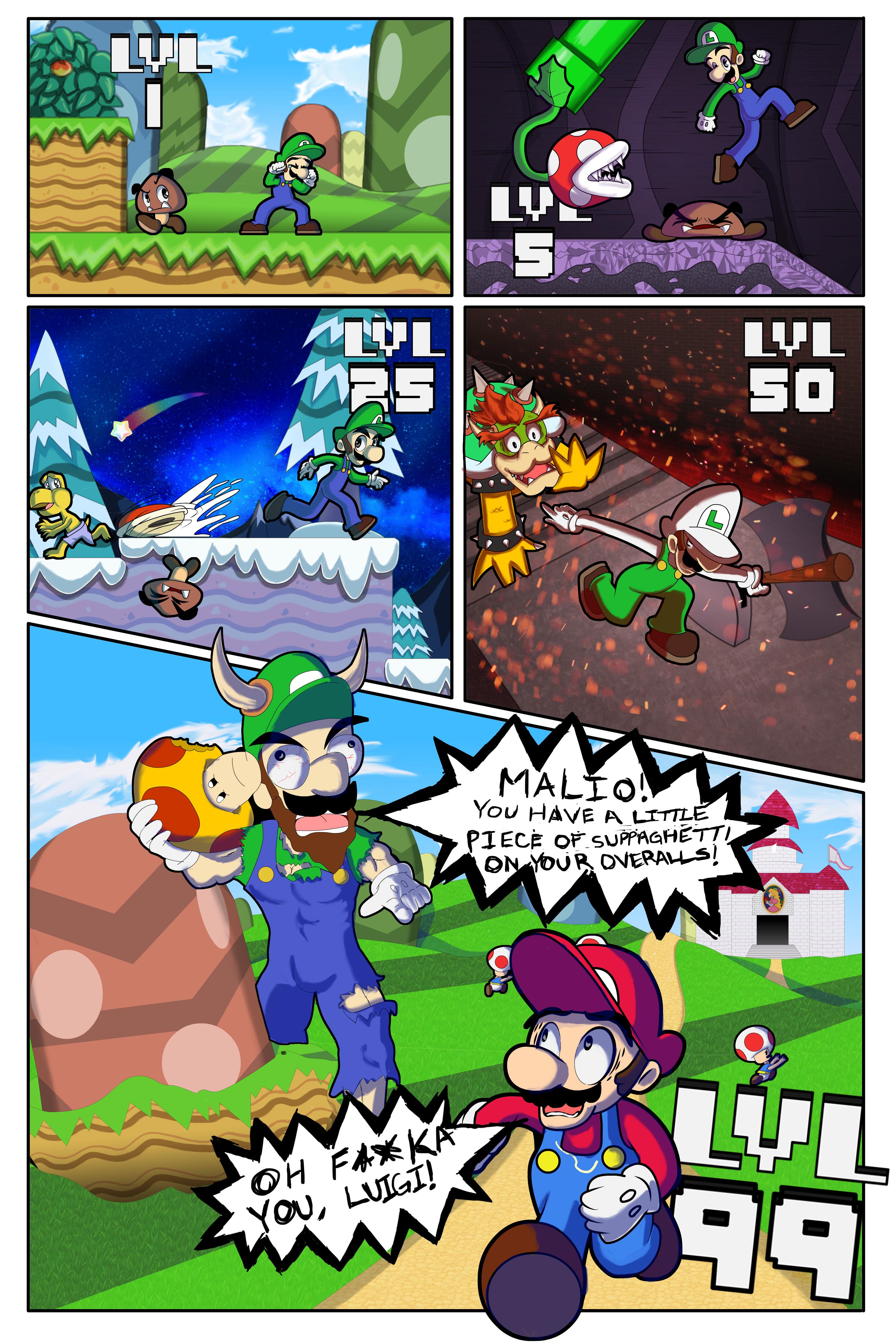 If Luigi Could Level Up - Jazza COTM May 2017 'LEVEL CAP'