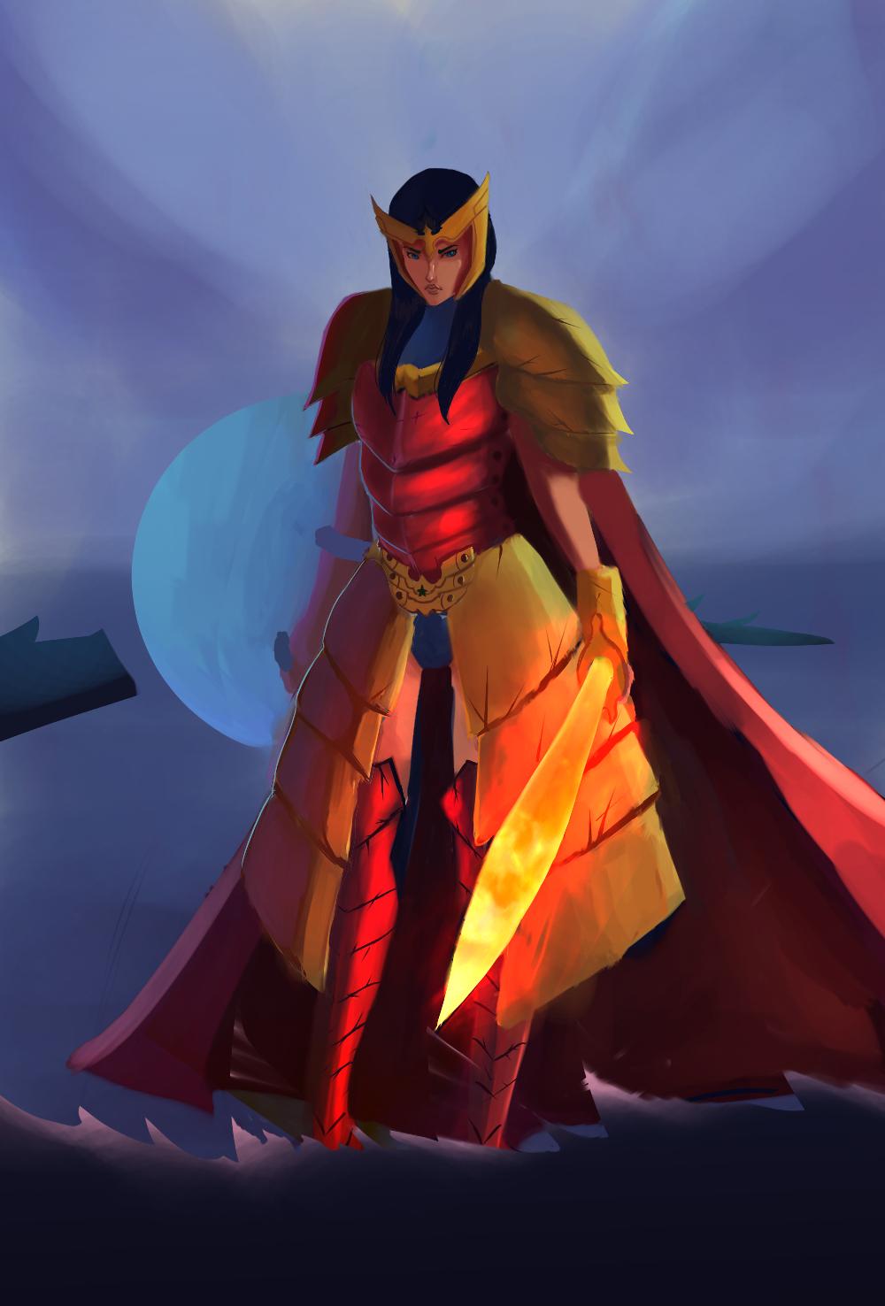 Wonder Woman LVL 99