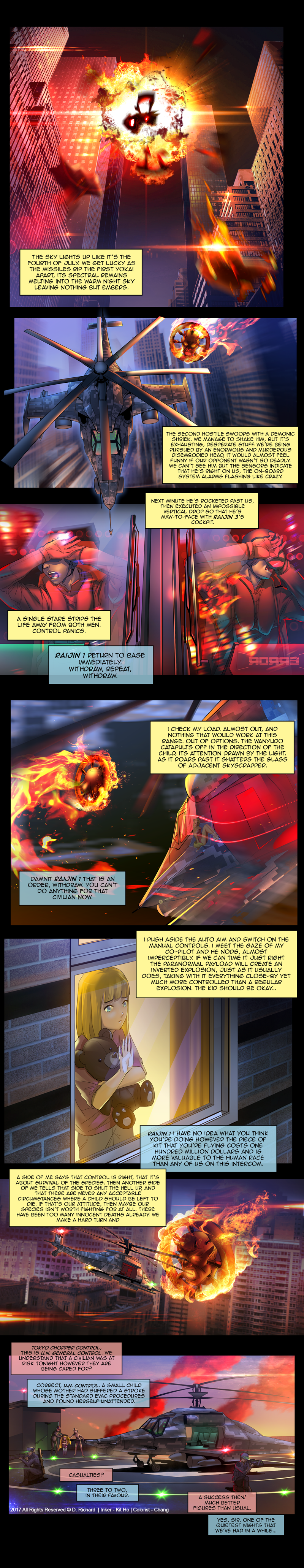 Age of Yokai Page Three