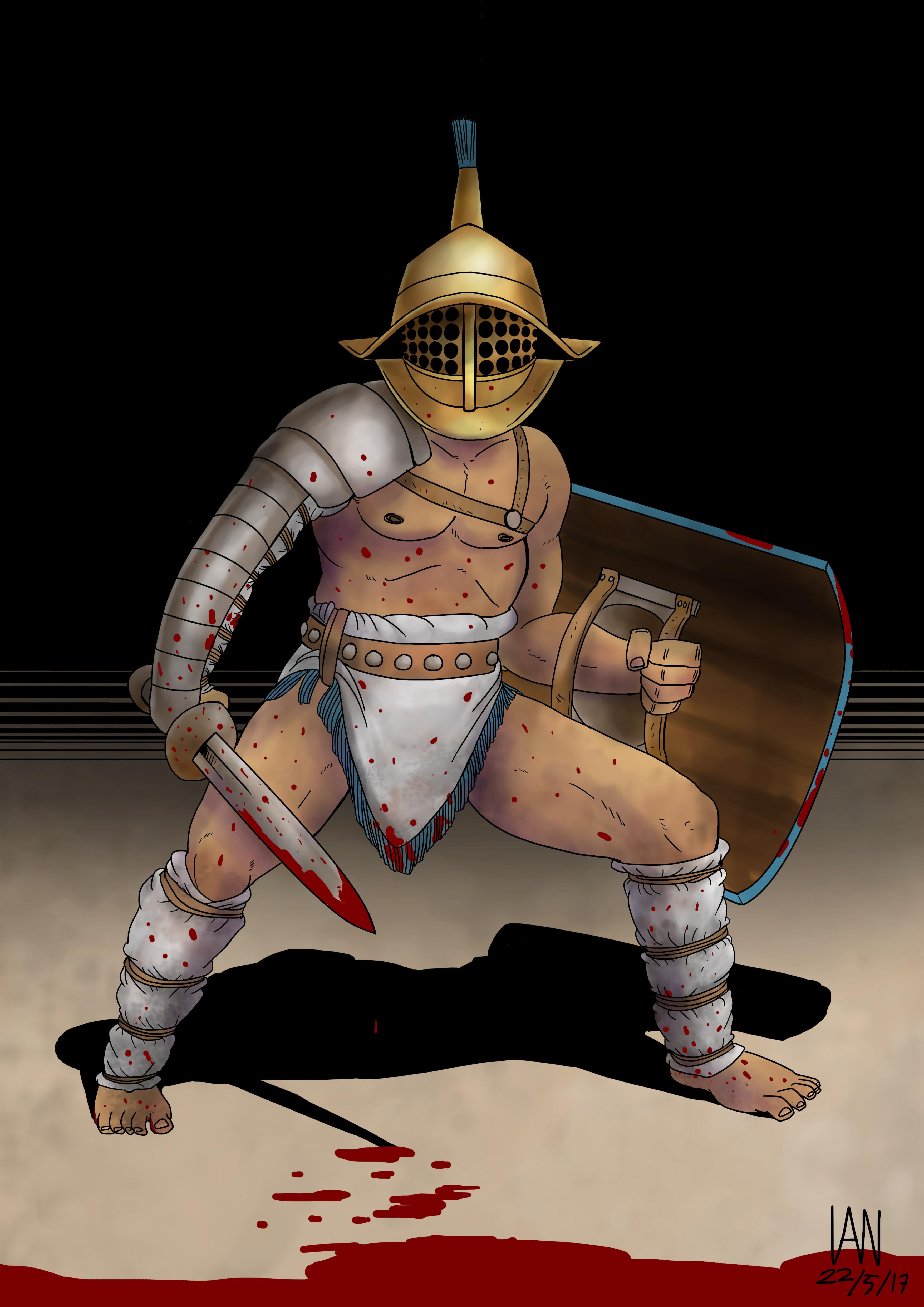 Gladiator - Murmillo