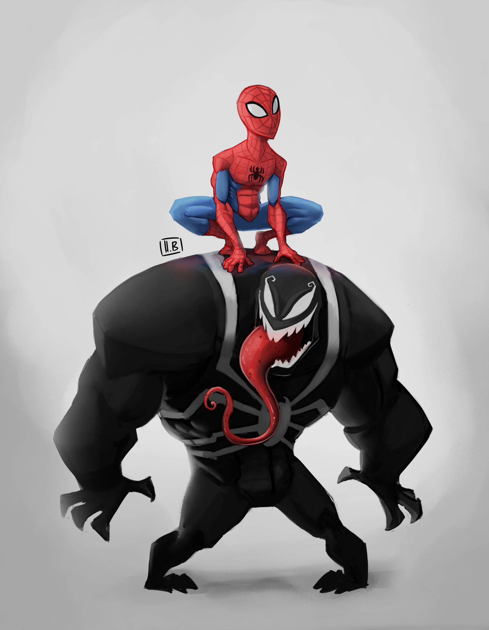 Infinity Spider Man & Venom.