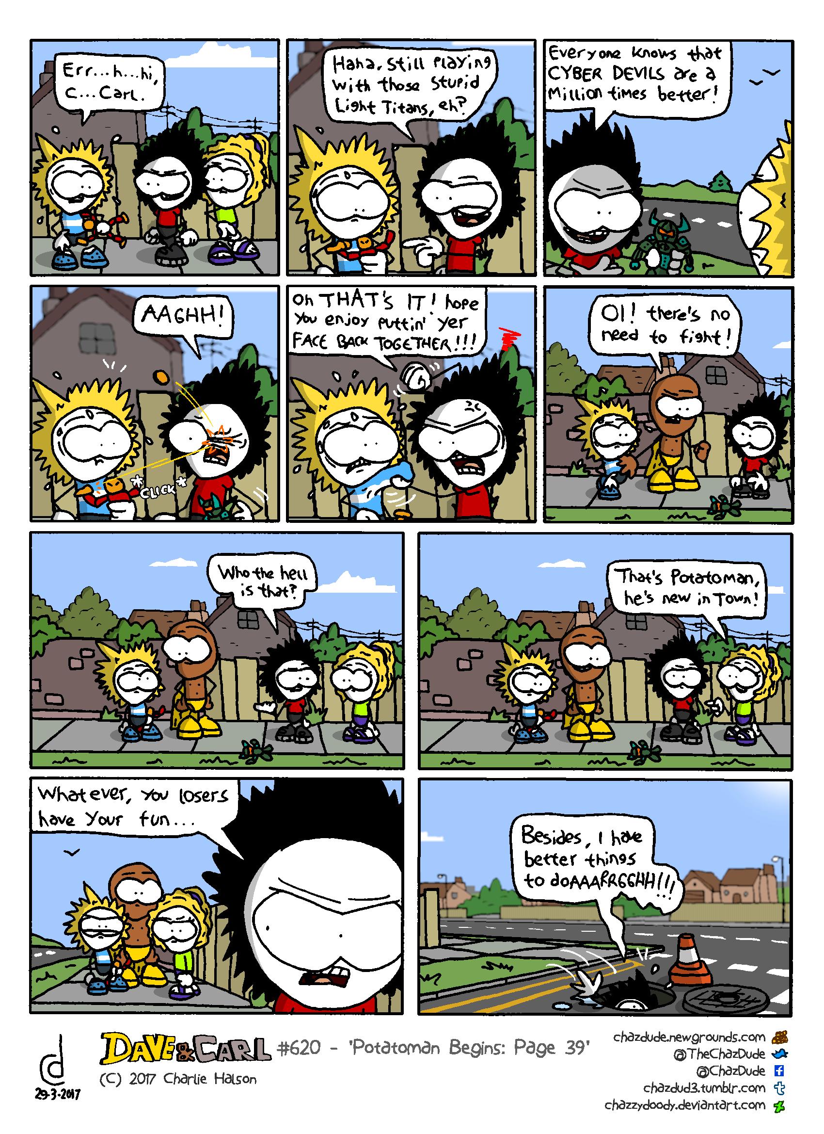 Potatoman Begins: Page 39