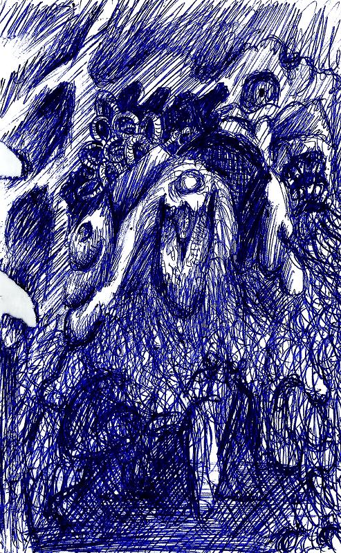 Eldrich Monster #1