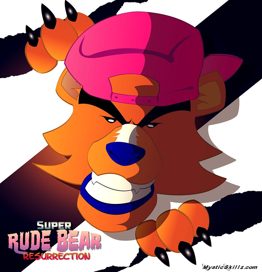 Super Rude Bear