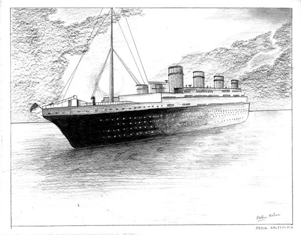 Titanic ( u can call it a ship)