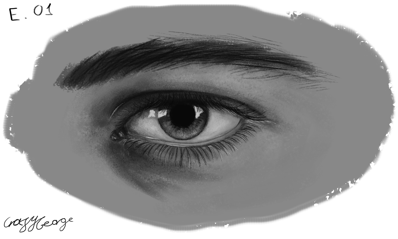 Exercise 01 - Drawing a Realistic Eye