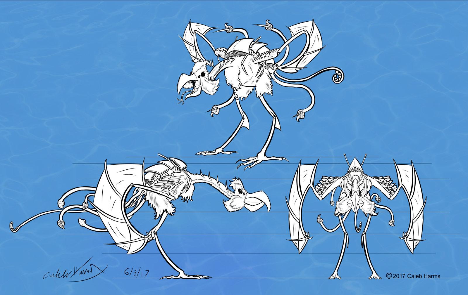 Aqivion Creature Concept