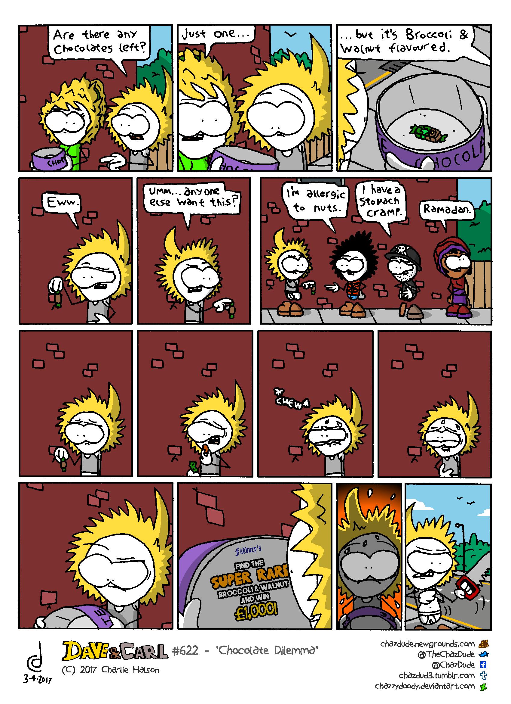 Chocolate Dilemma