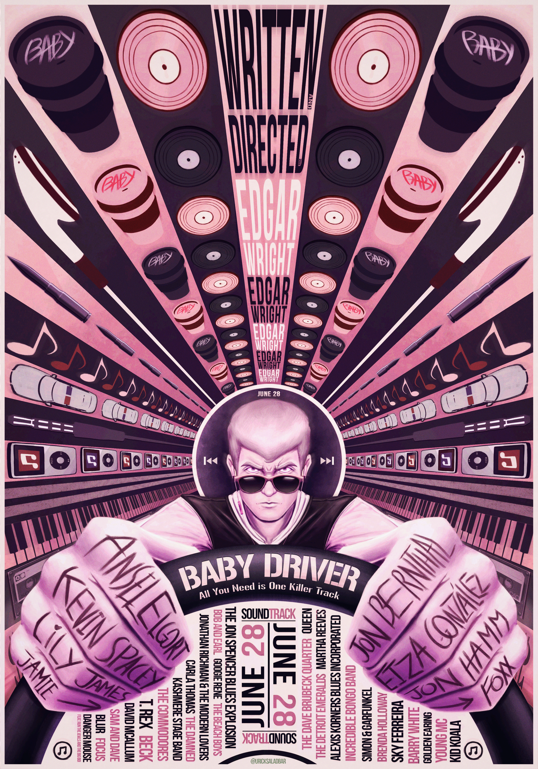 Baby Driver Poster Contest Entry