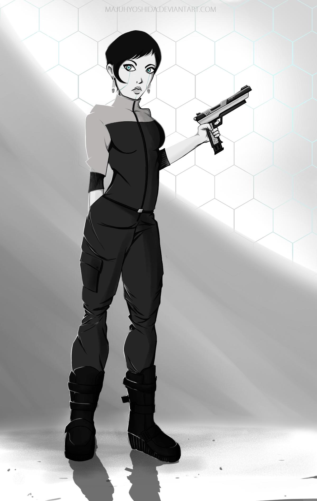 Character Design - Cyberpunk