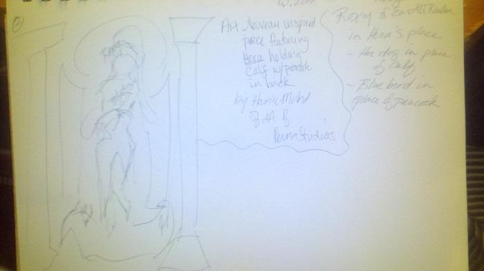 WIP Sketch 1
