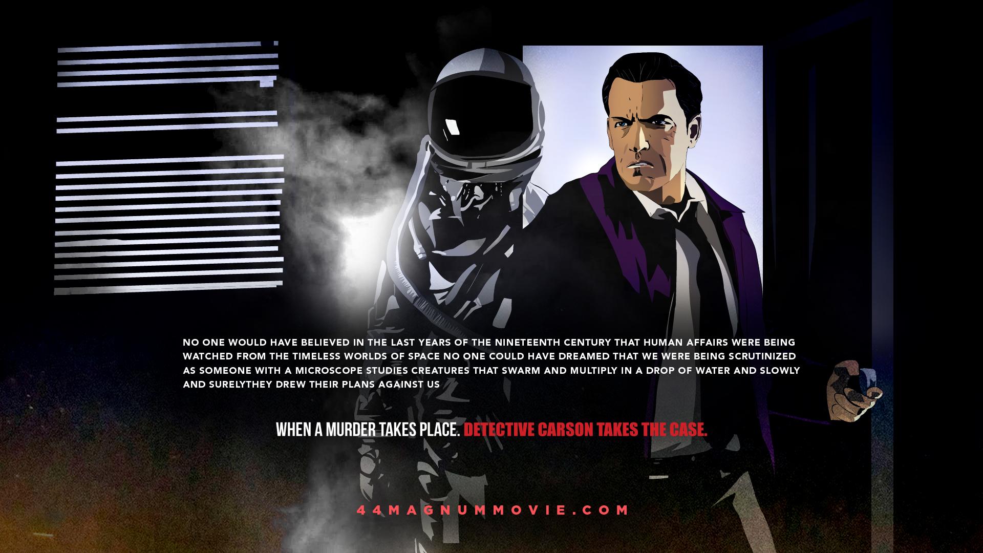 44 Magnum | Detective Carson Poster