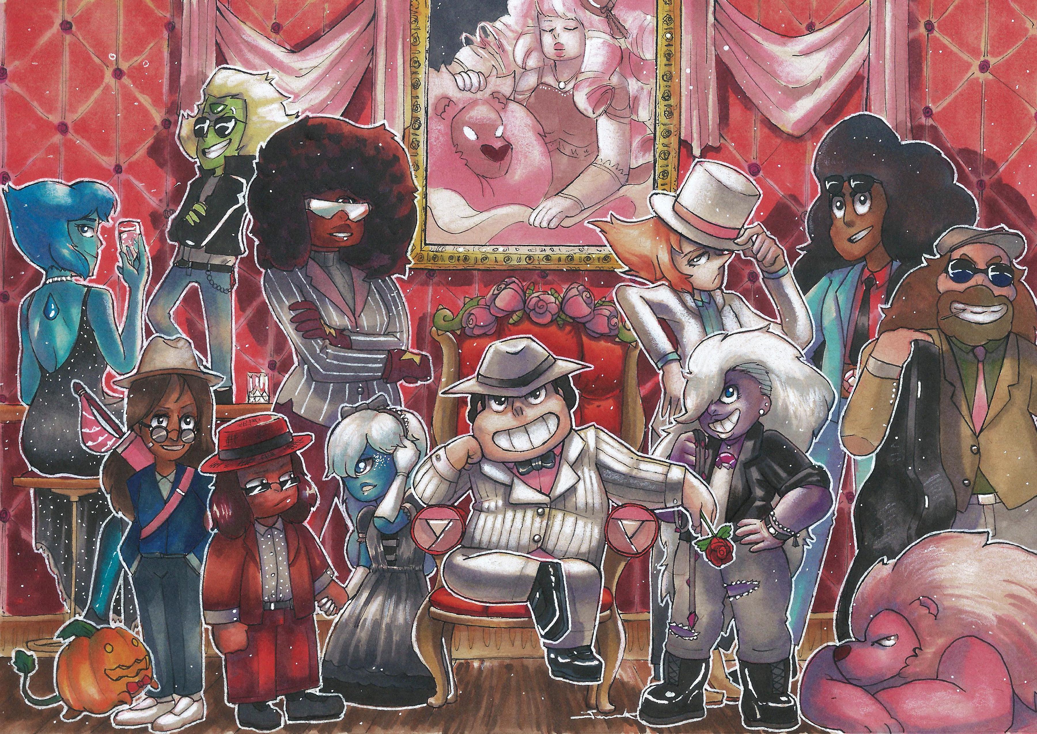 Crystal Gem Mafia-The Rose Familia