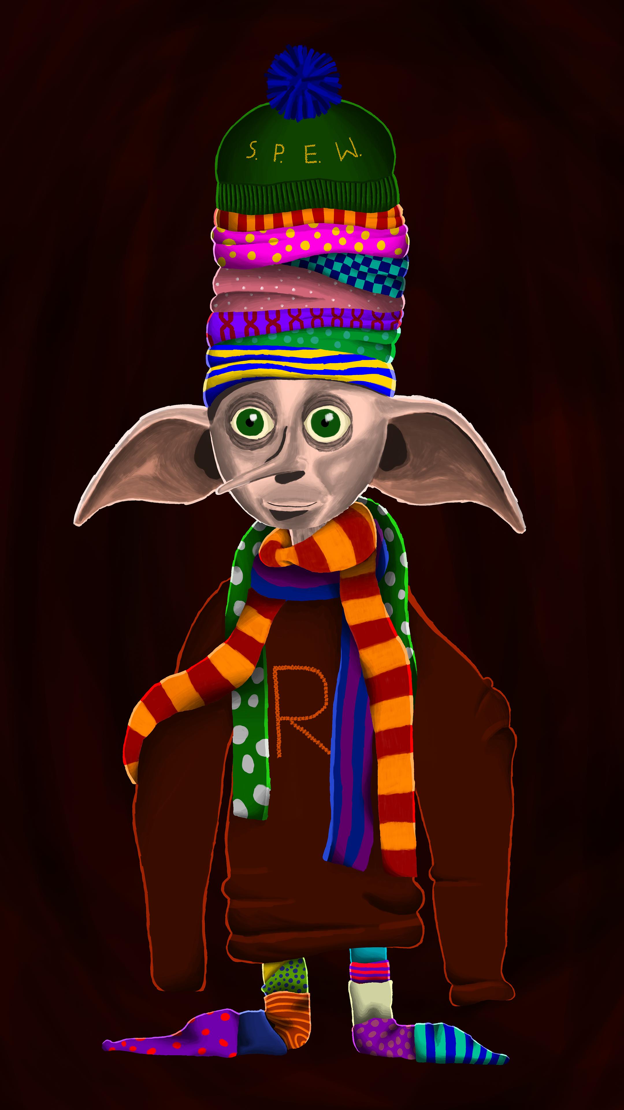 Dobby is a free elf!