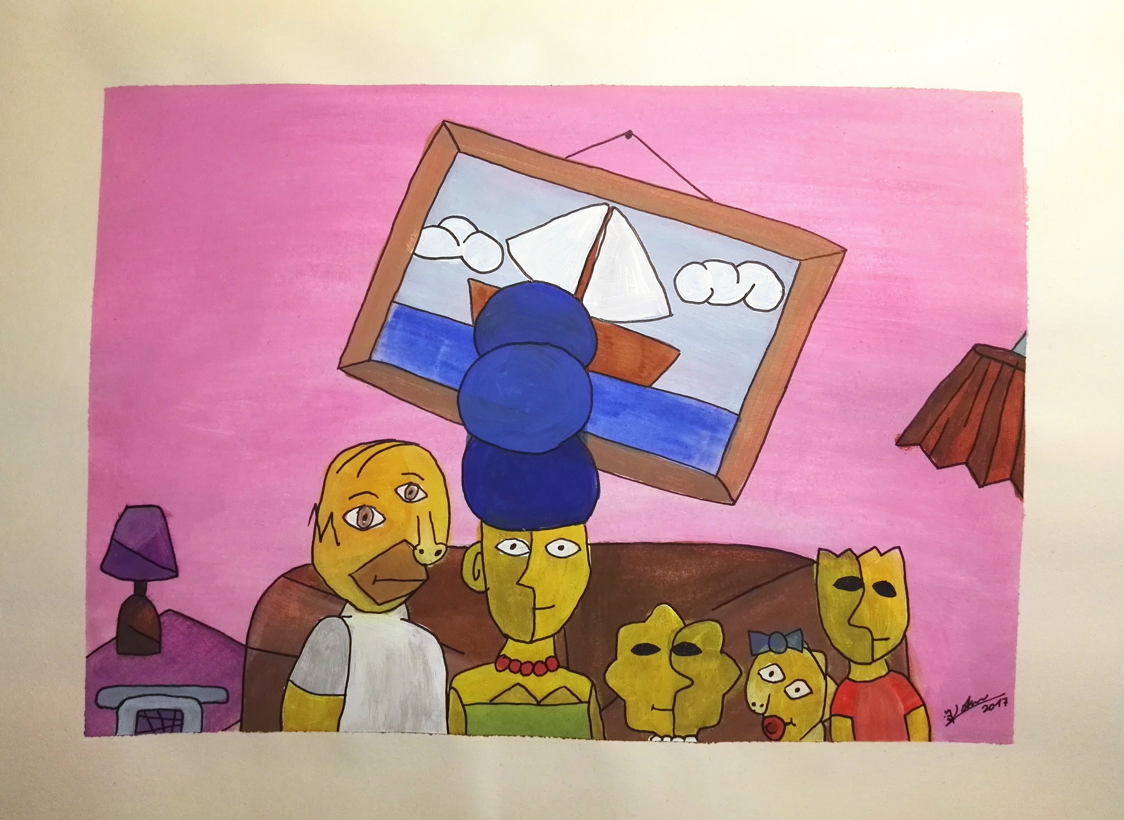 The Simpsons - Picasso Edition