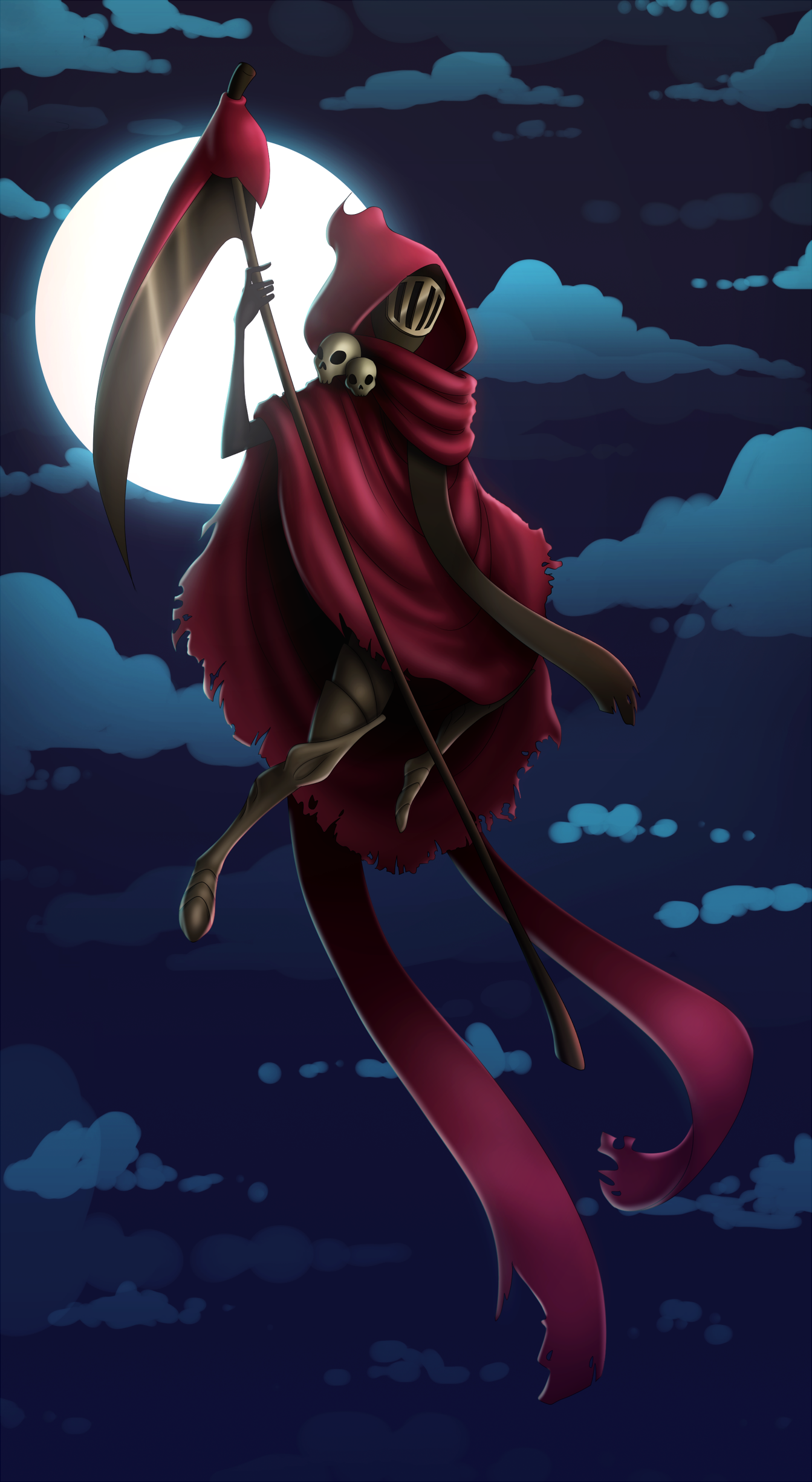 Credit Score Report >> Specter Knight by flopicas on Newgrounds
