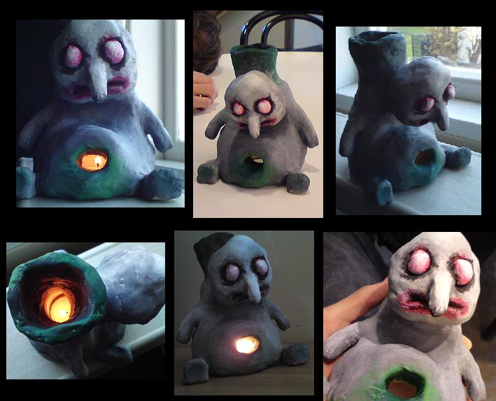 Scary clay thing