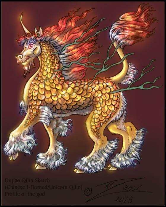 Golden Dujiao Qilin Profile