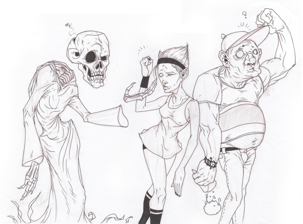 Billy Mandy & Grim