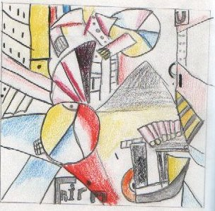 An Abstract Idea Of Cubism