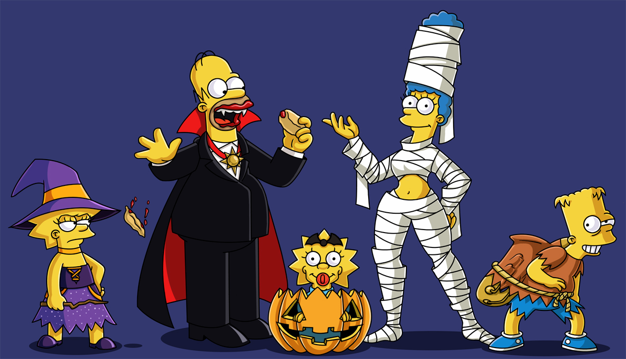 Simpson's Halloween Outfits