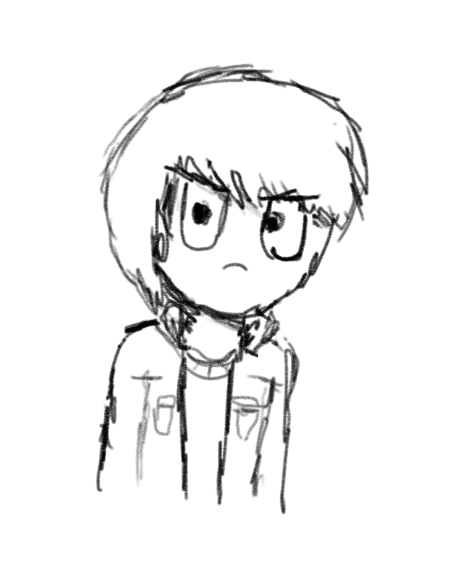 Harper quick sketch