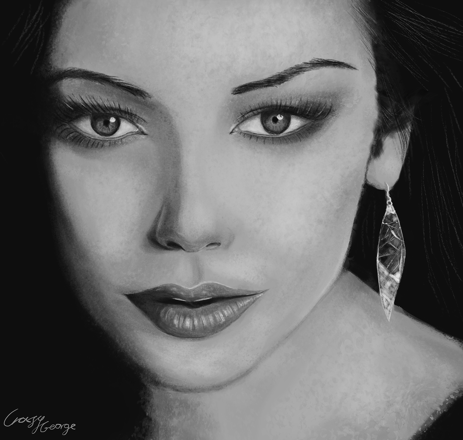Exercise 02 - Drawing a Female Face