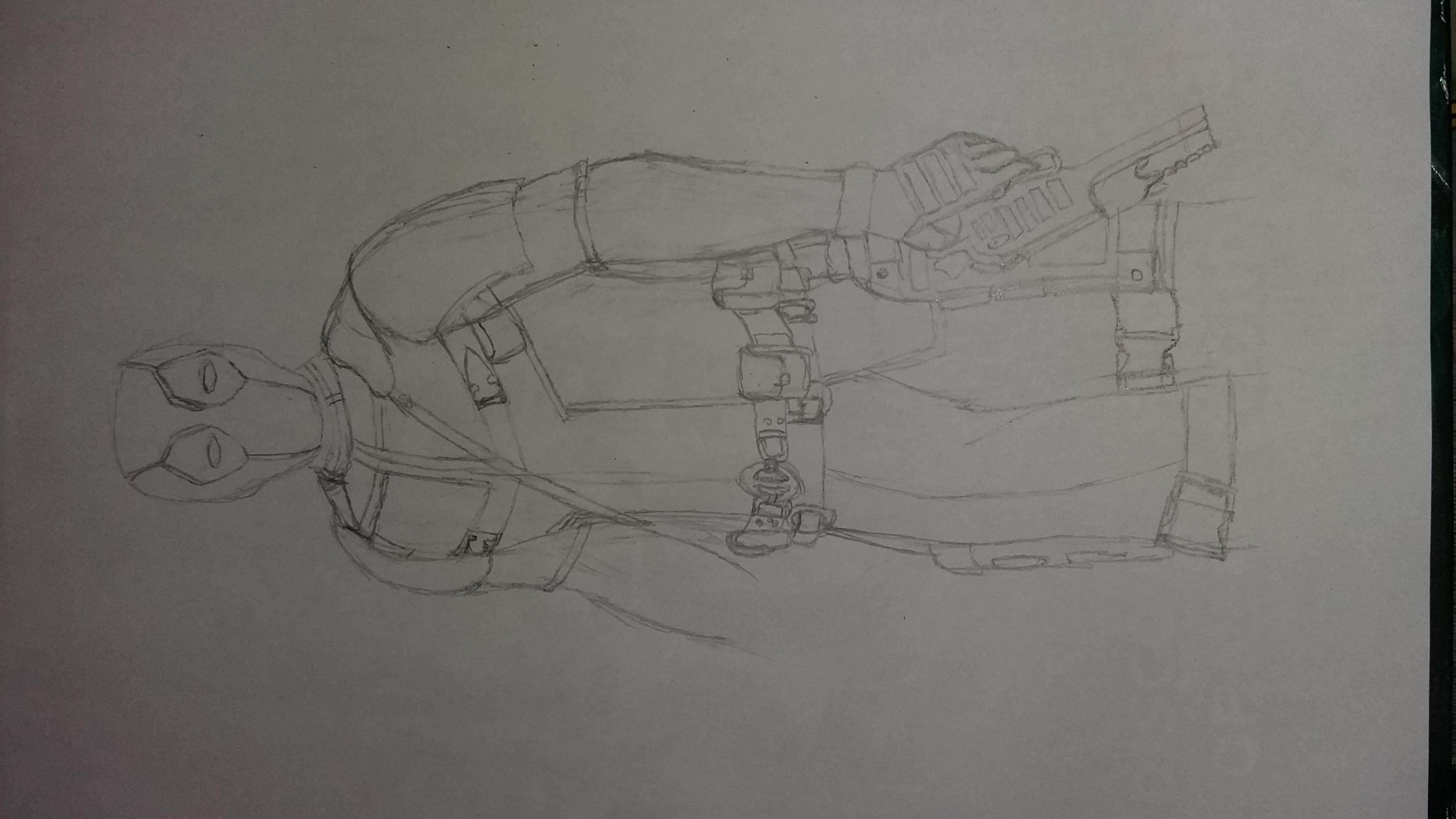 Work in progress Deadpool