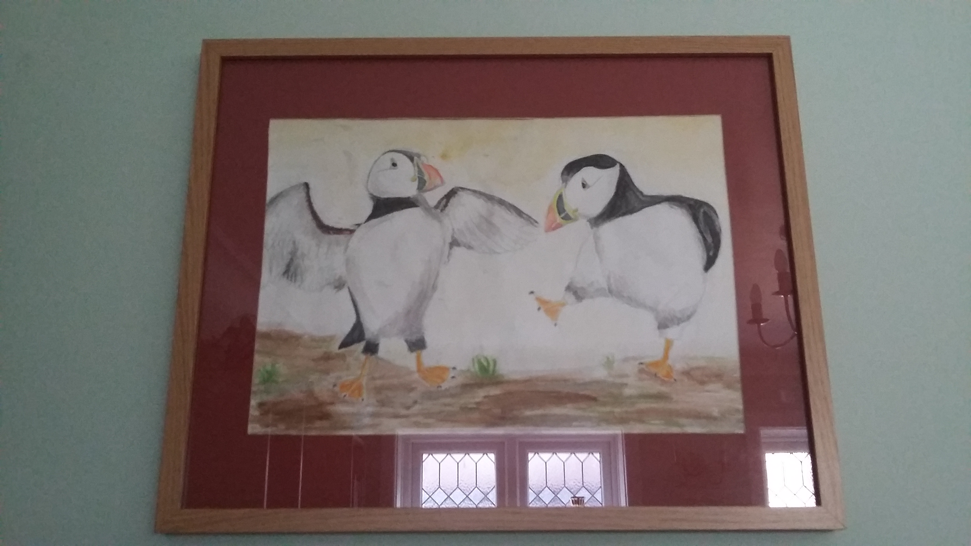 Dancing Puffins