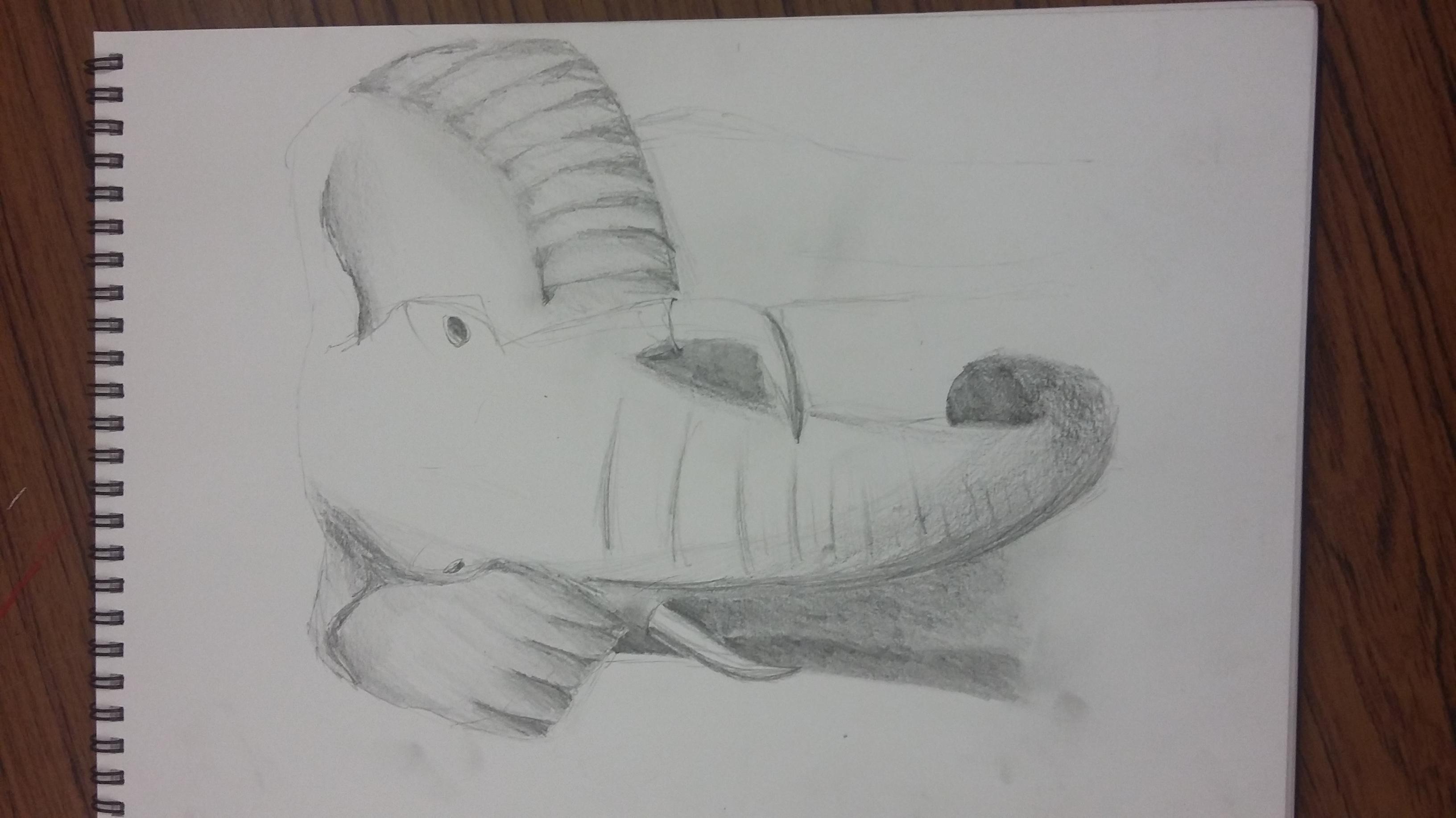 Work in progress Elephant
