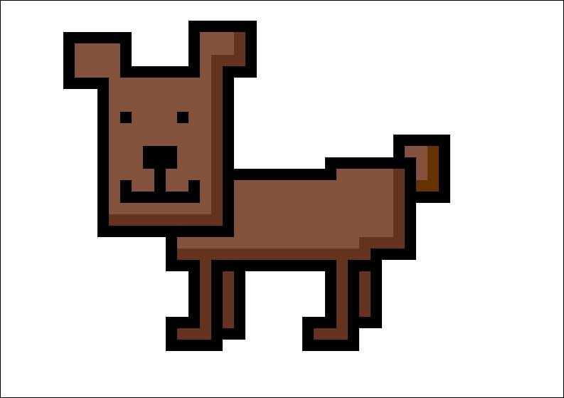 Dog (Pixel Art)