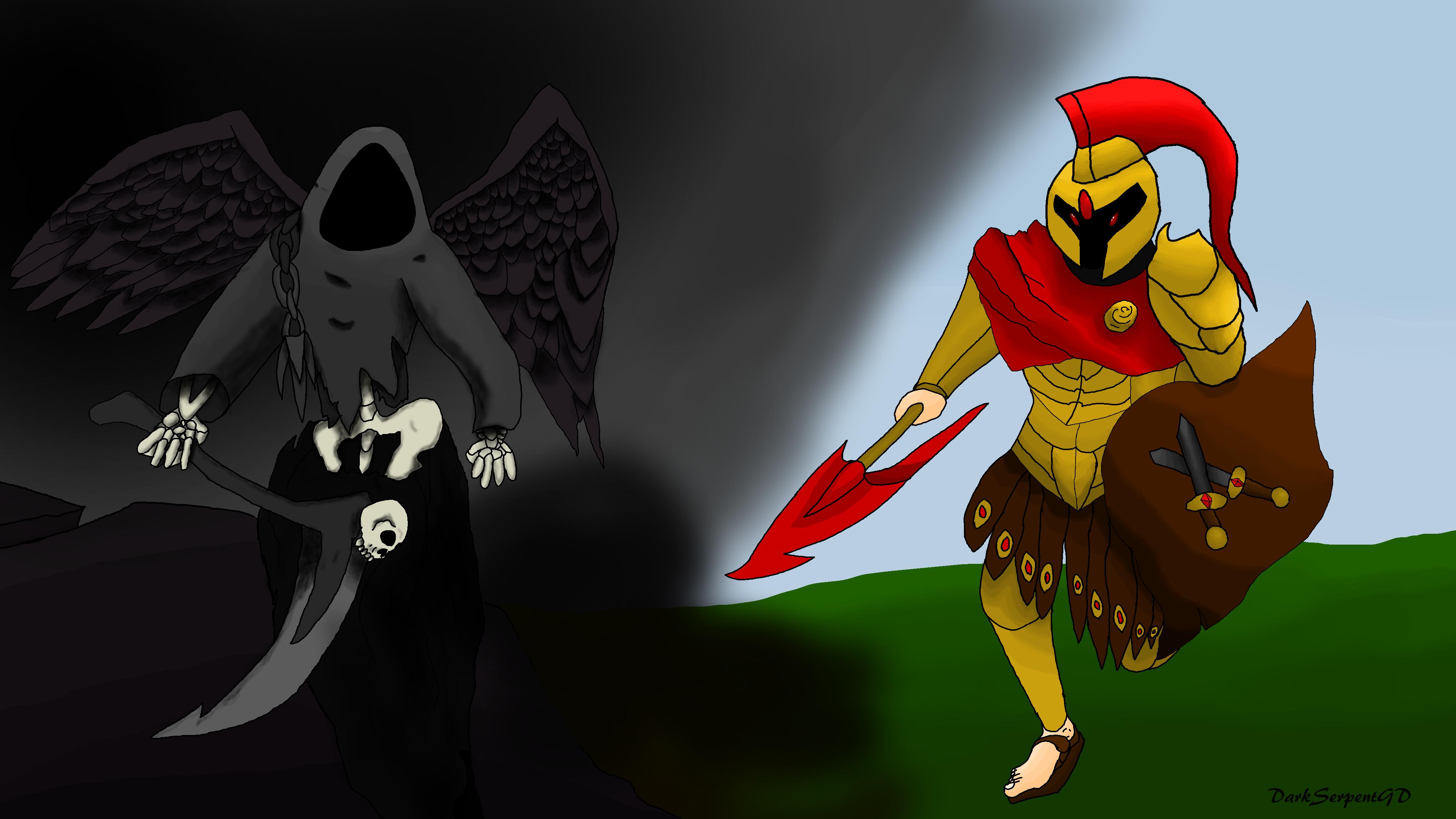 Thanatos VS Ares