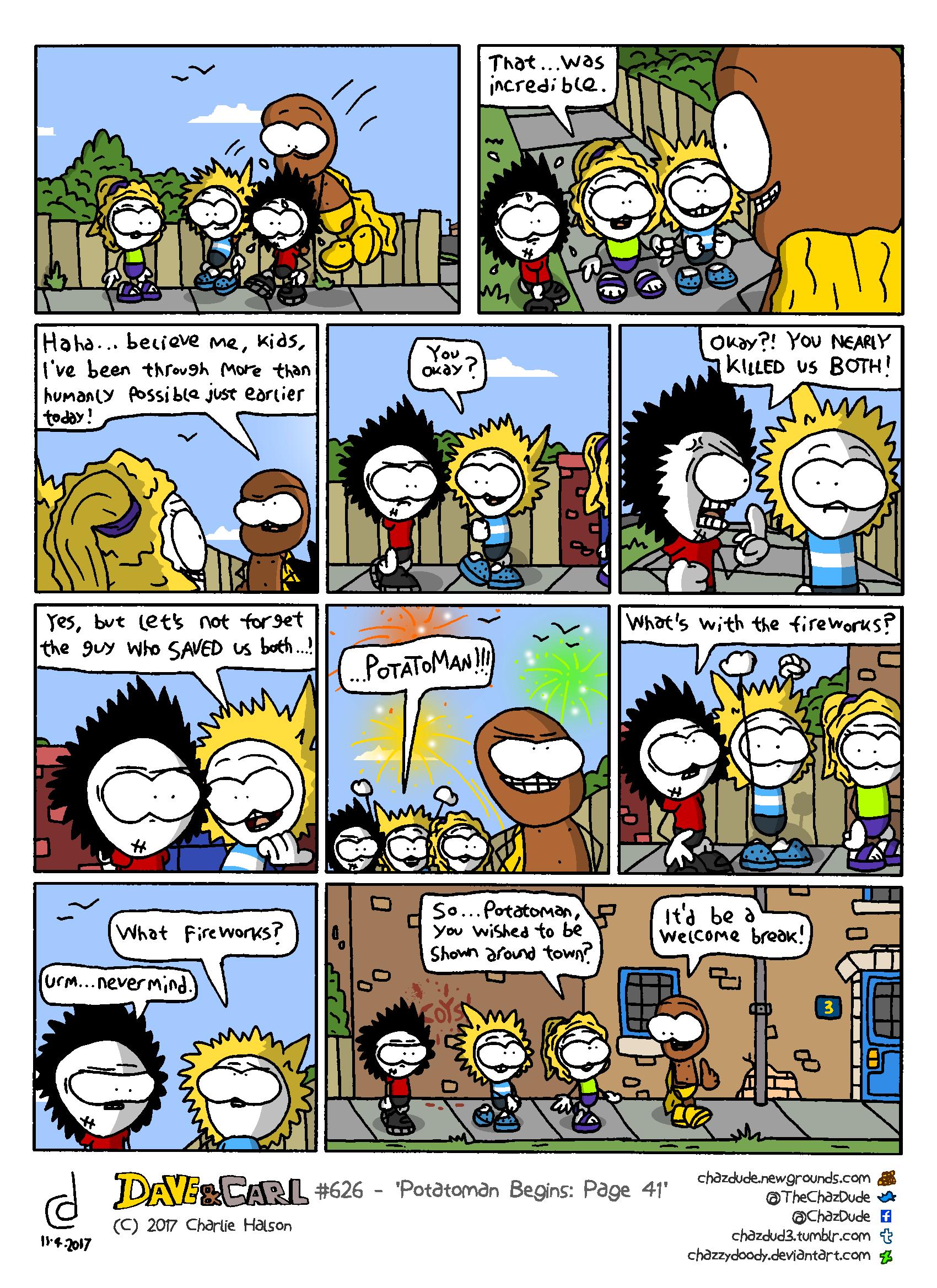 Potatoman Begins: Page 41