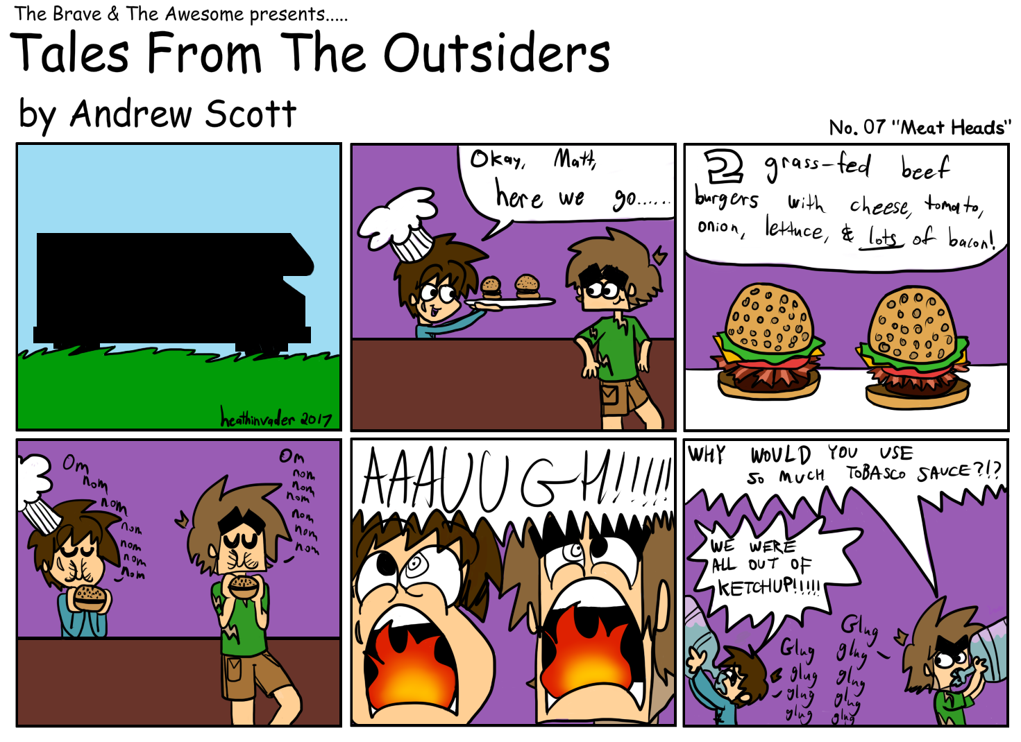 Tales From The Outsiders No.07