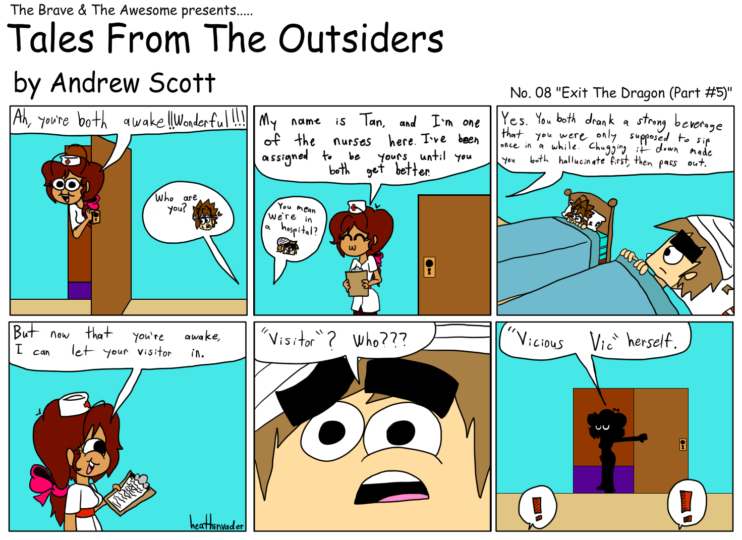 Tales From The Outsiders #12