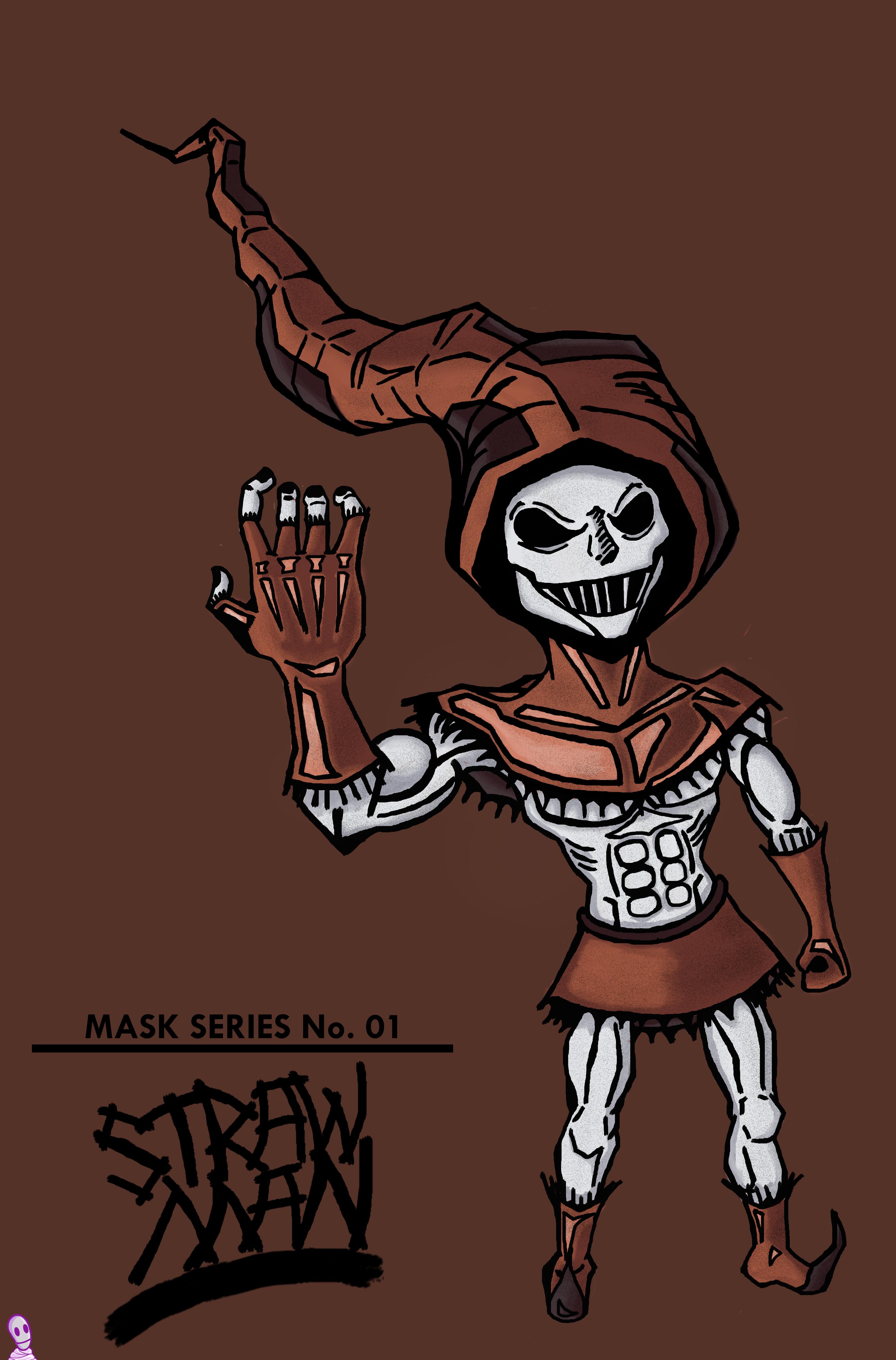 MASK Series No. 1 - Straw Man