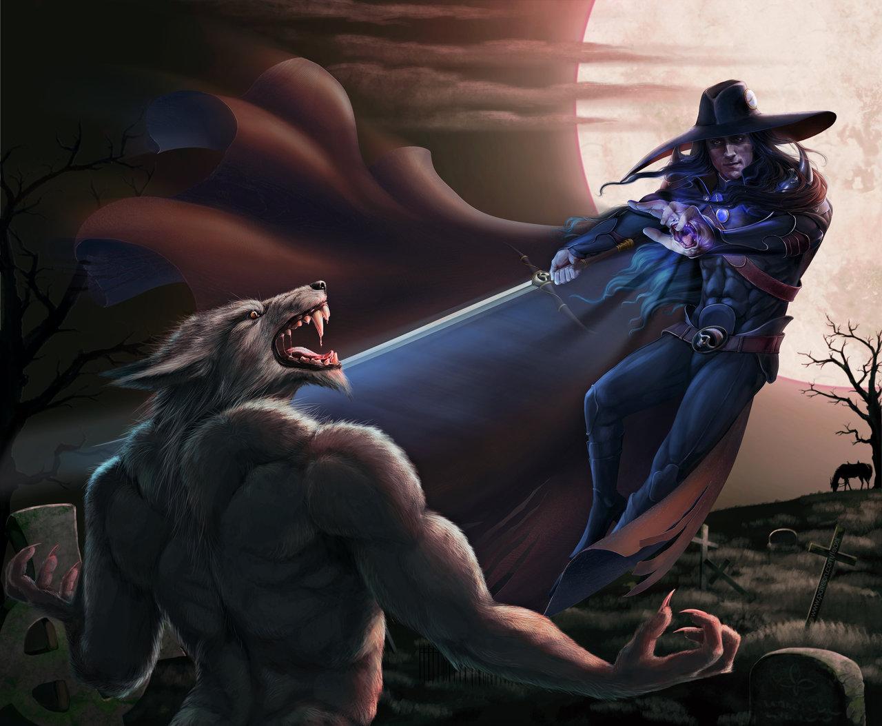 Vampire hunter D. Duel (color 1)