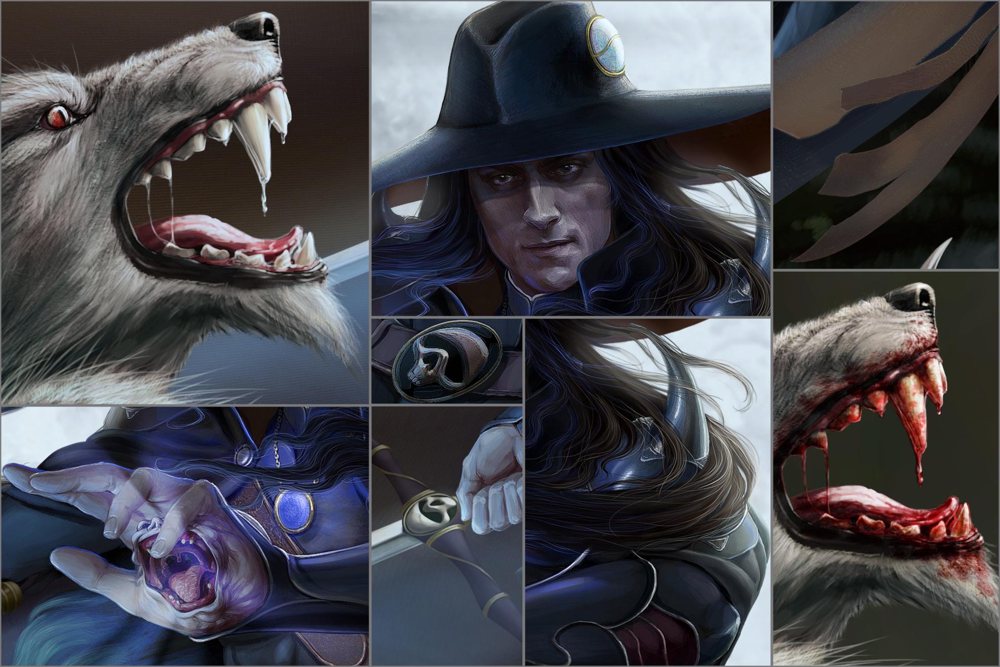 Vampire hunter D. Duel. Details