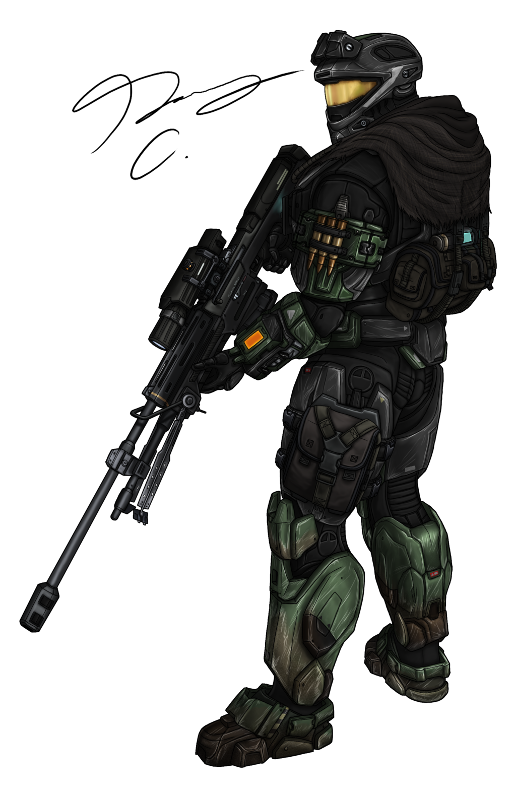 Commission - Spartan MrSkits 2