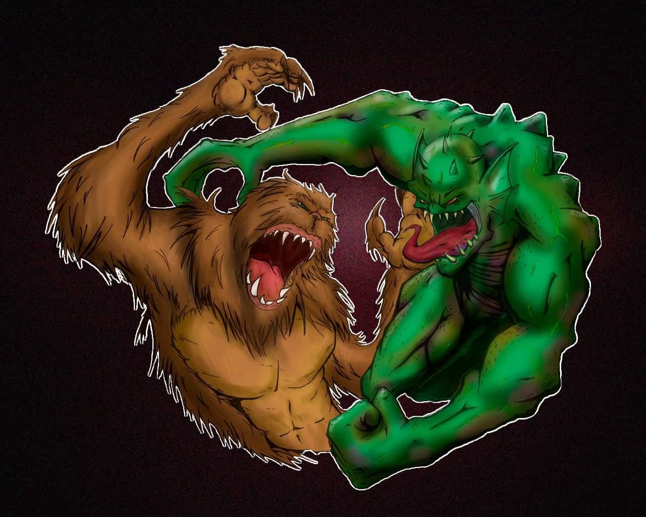 abomination vs. sasquach