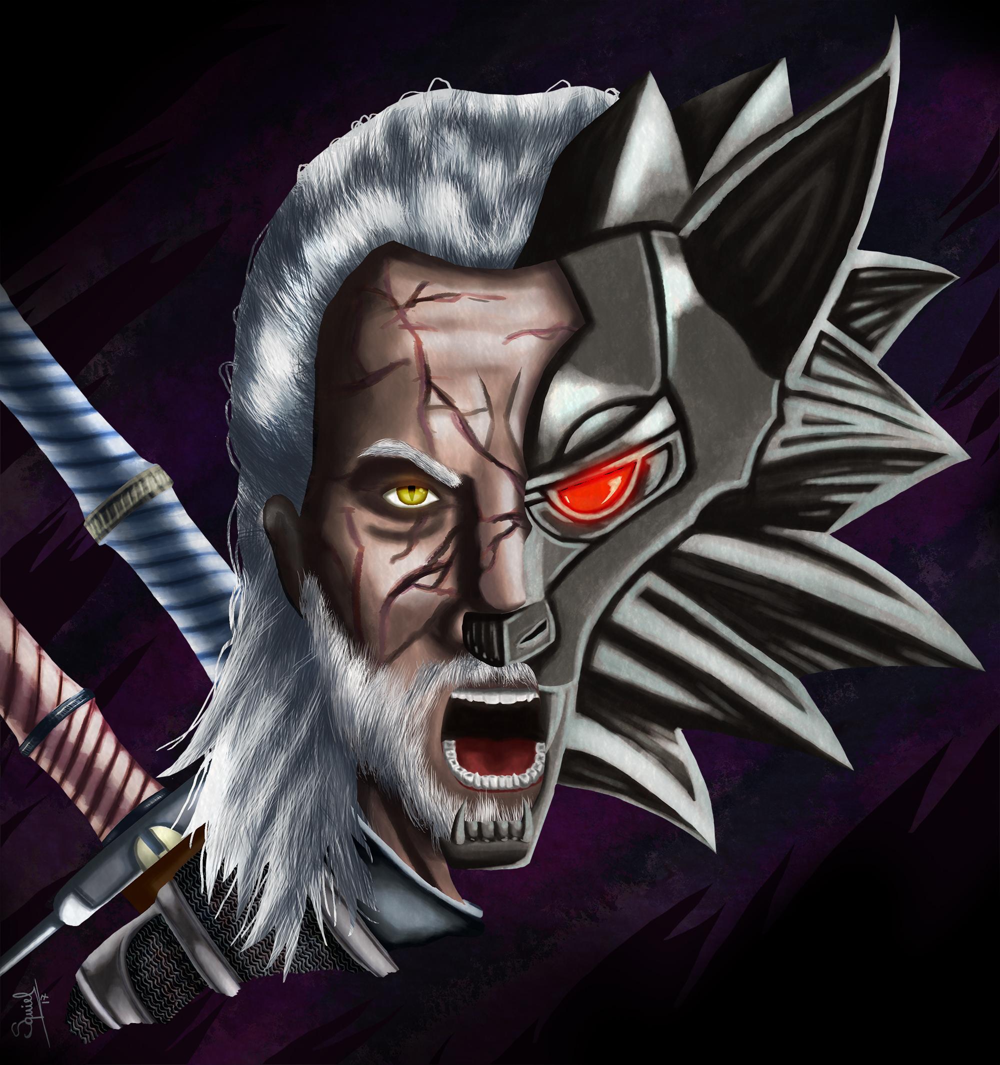 Geralt, the wolf