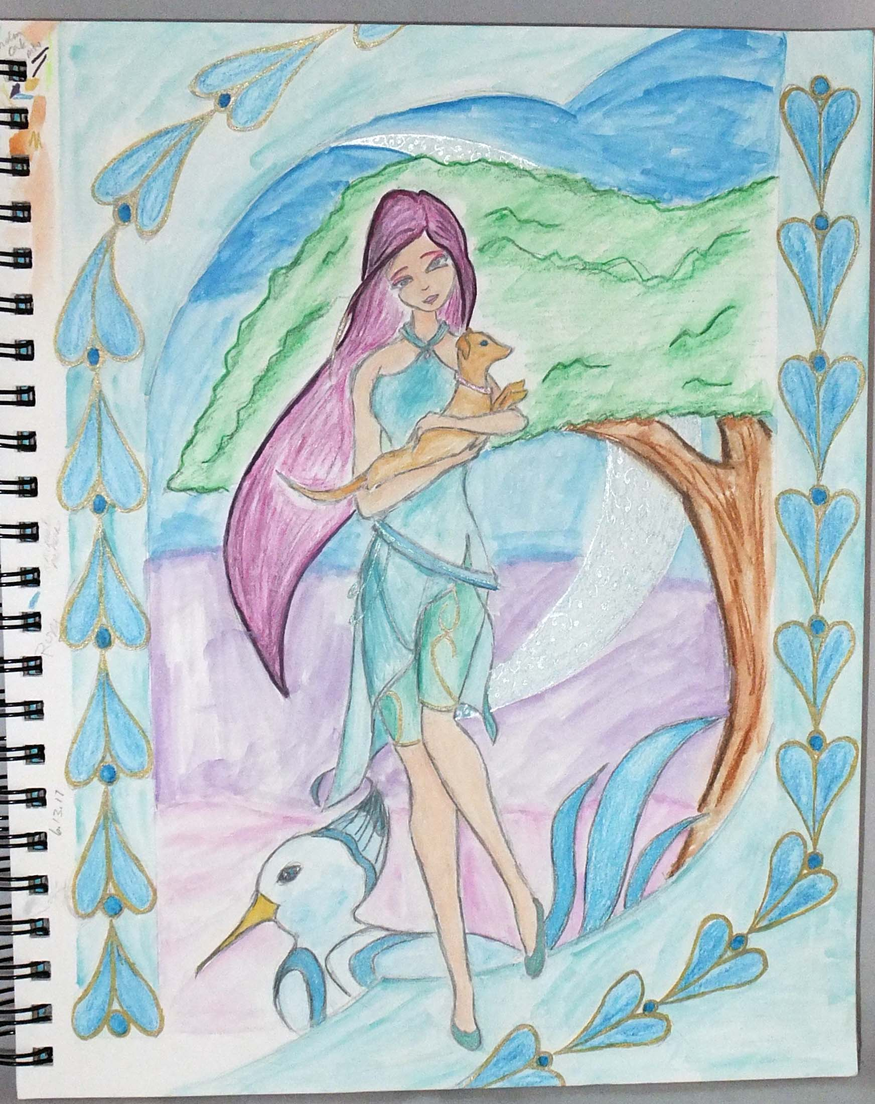 Roxy - Roman Goddess Reimagined