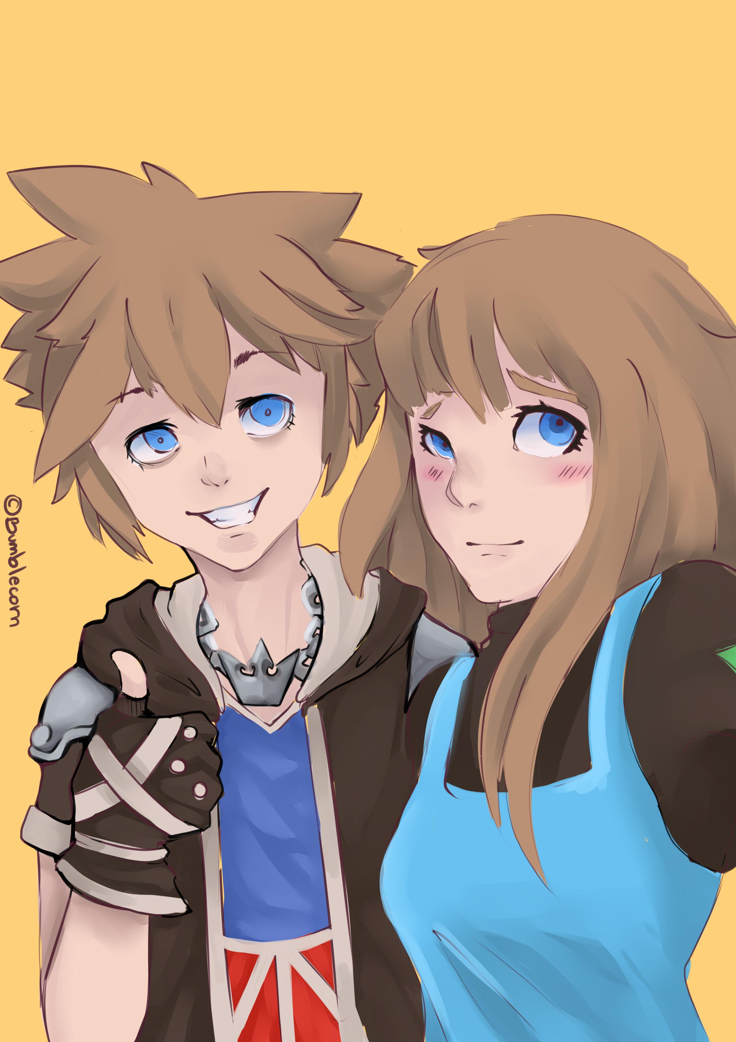 Sora and OC